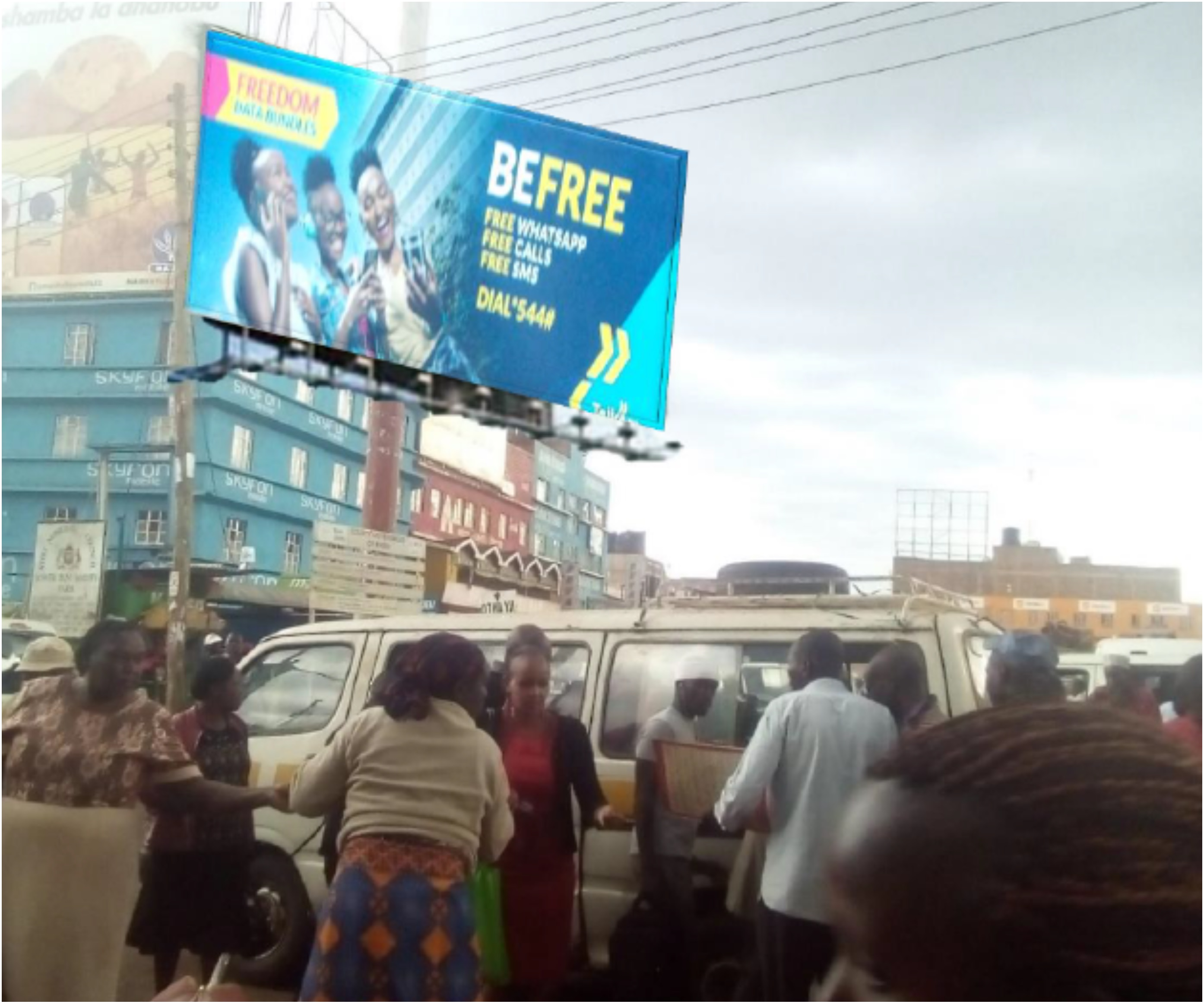 Sprint Kenya billboard