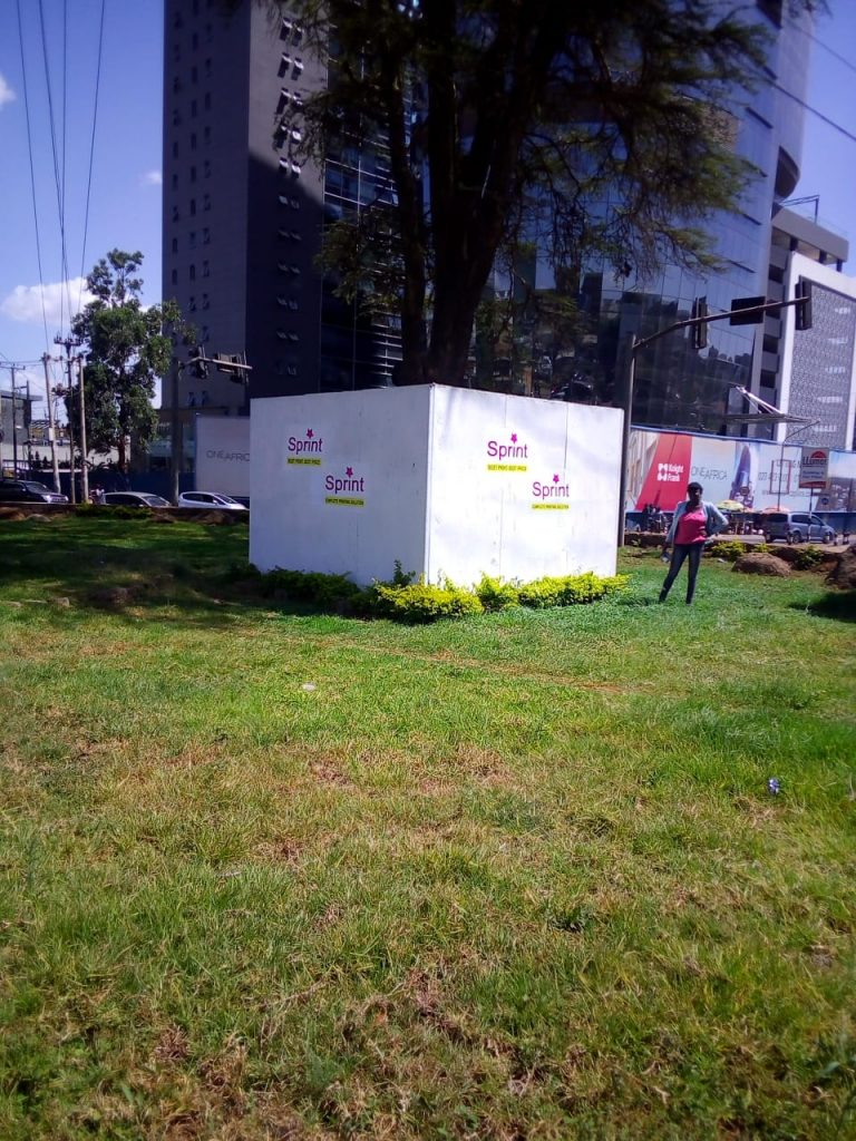 Sprint Kenya Signboard