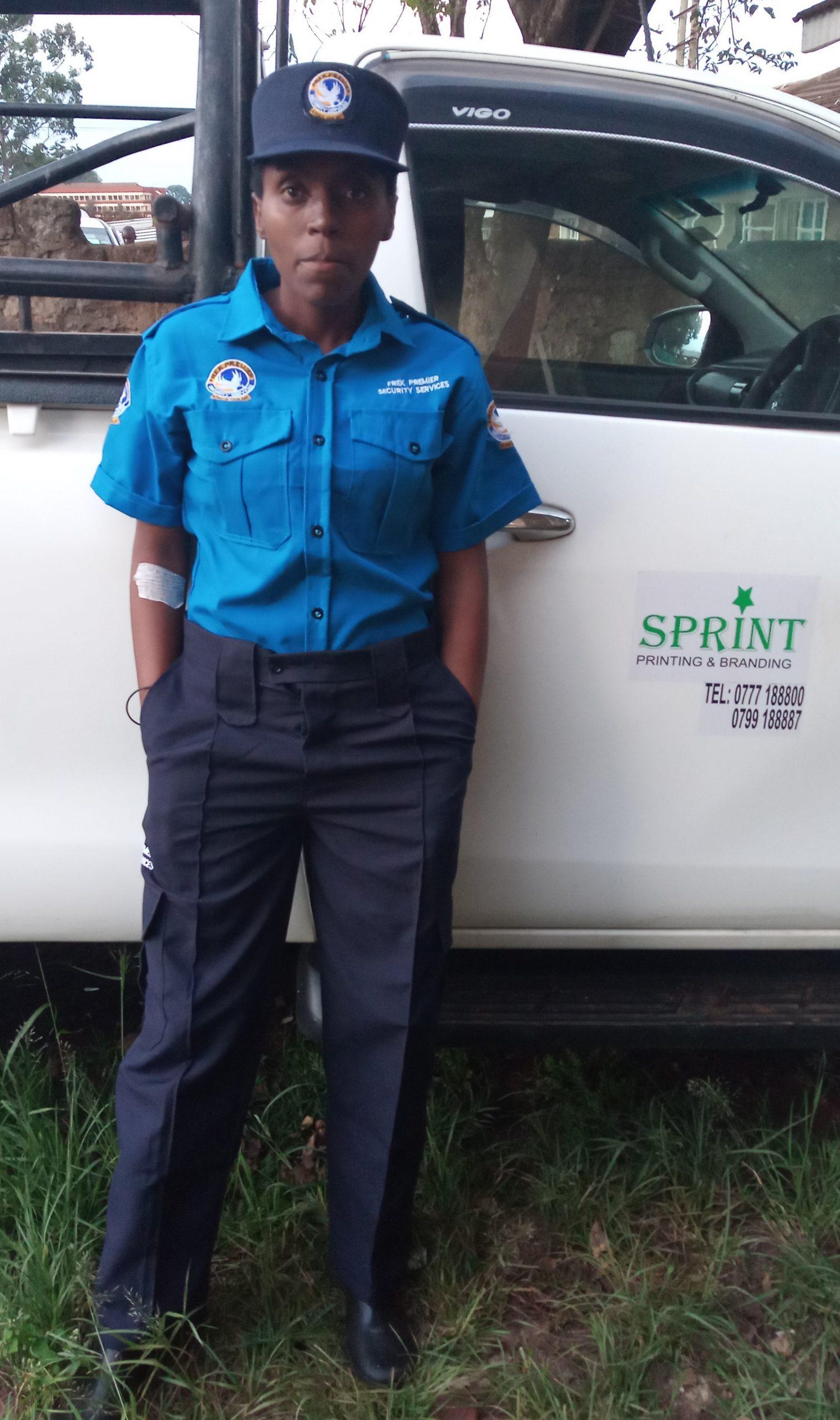 Askari uniform branding boots