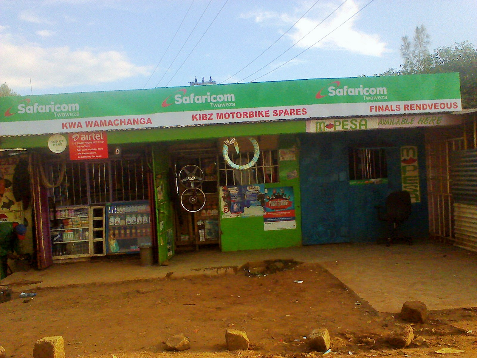 safaricom retail name signage Signboards
